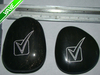 Reiki Stone Crafts Engraved Patio and Garden stones: etched with mark desgin