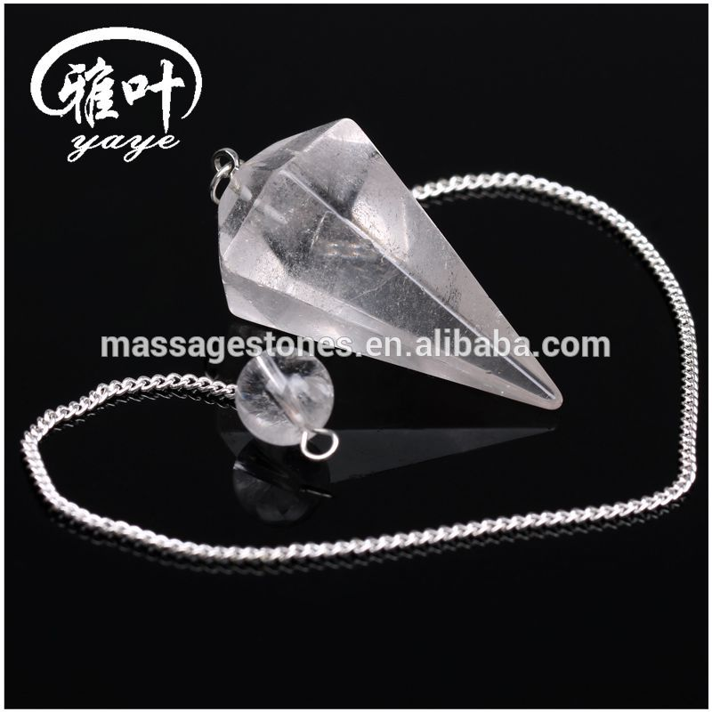 Wholesale Factory Cheap Prices Natural Semi-precious Crystal Healing Pendulum