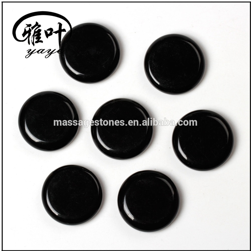 Wholesale Black Obsidian Engraved inspierd Stones engraving gemstones
