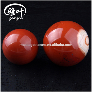 Wholesale Polished Natural Red Jasper Decoration Carving Sphere Ball