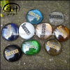 Promotional Gift Engraved glass stones beads