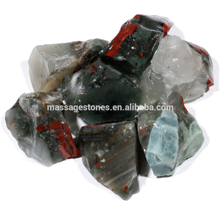 Wholesale Natural Africa Blood Tumbled Stone Rough Gemstone Various Usage For Gifts