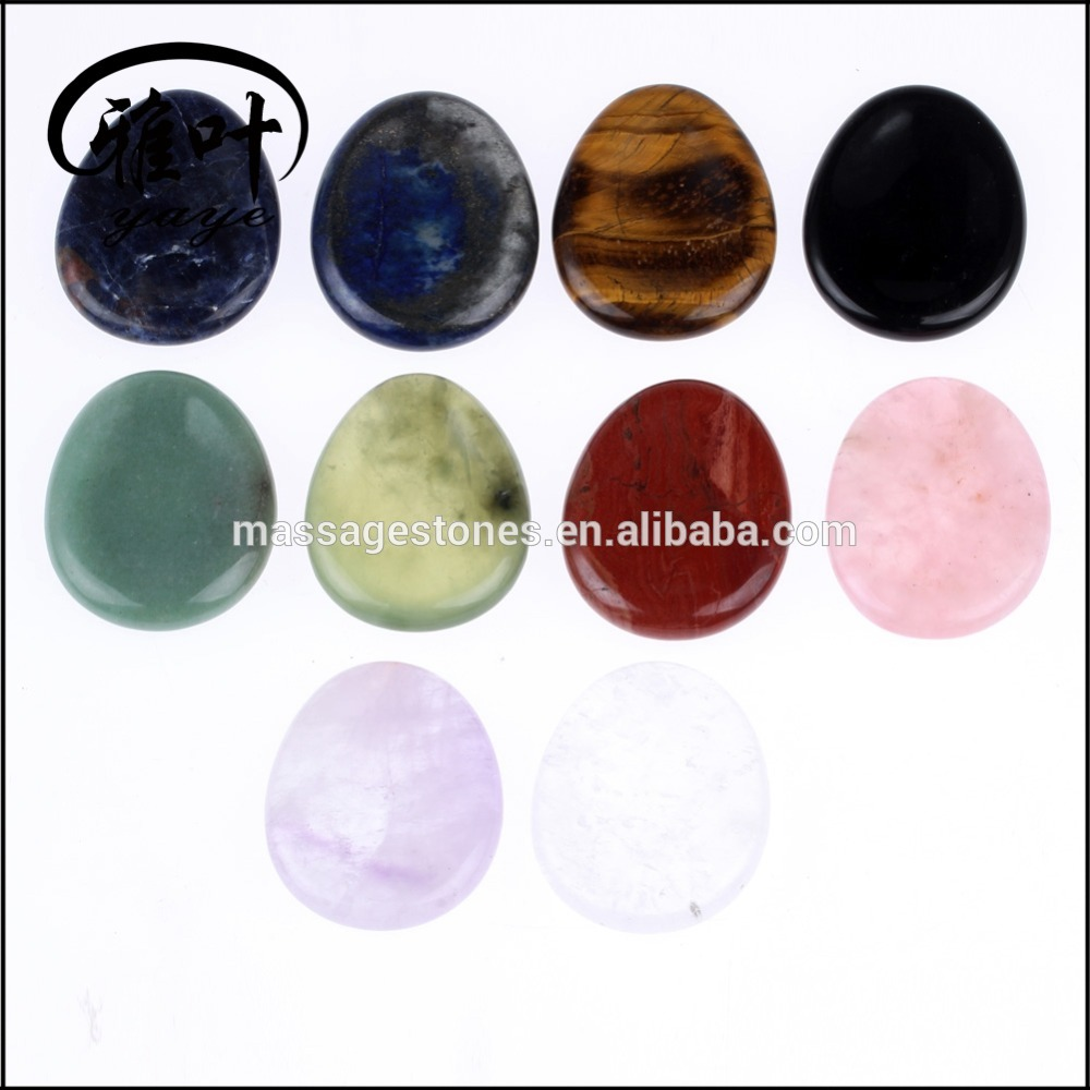 Bulk Wholesale Mixed Color Worry Stones for Massage