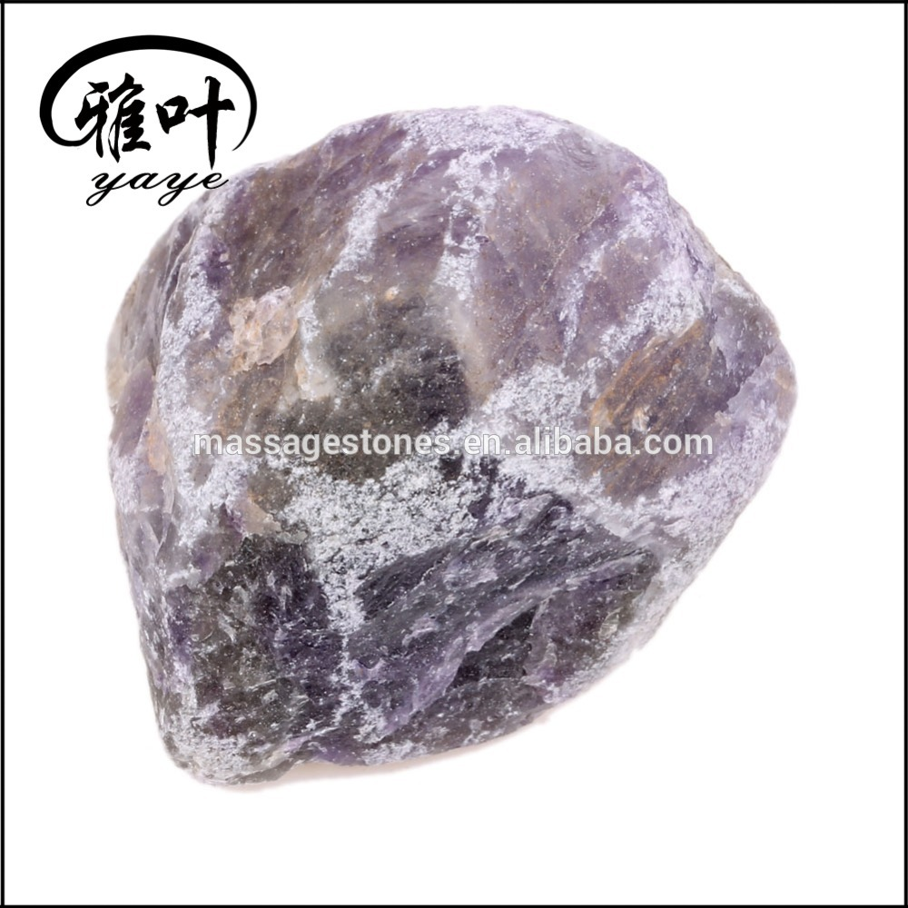 Wholesale Natural Amethyst Tumbled Stone Rough Gemstone
