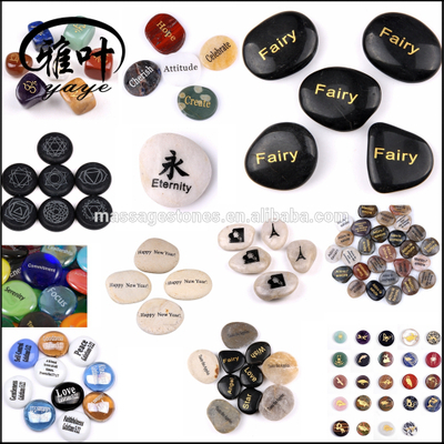 Natural River Stones Engraved Stones Word Stones Inspirational Stones Wholesale