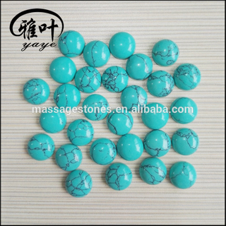 Factory Prices Wholesale Green Turquoise Cabochons