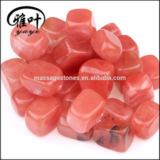 Cherry Quartz Tumbled Stones For Bulk Wholesale