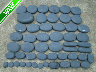 Wholesale Natural Spa Grey Basalt Stone Set/Kit Hot Massage Stone