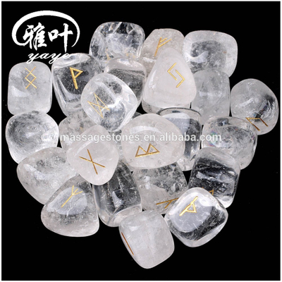 Wholesale Healing Engraved Inspirational Crystal Reiki Stones