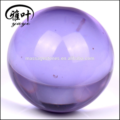 Clear Purple Glass Balls/Spheres Ornaments Bulk