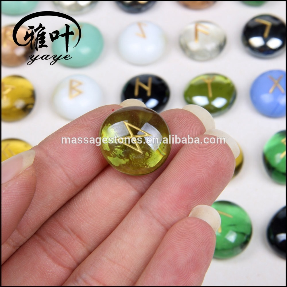 Bulk Wholesale Cheap Prices for Engraved Glass Stones