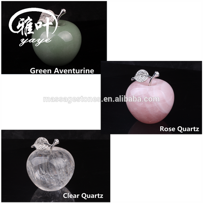 Natural Gems Stones Christmas Apples