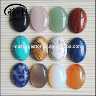 Natural Stones Oval Beads Cabochons for Jewlery Making