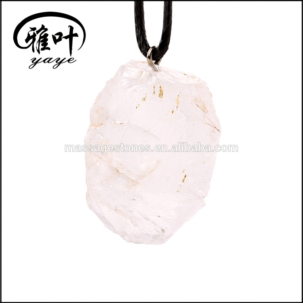 Wholesale Natural Druzy Geode Stone rock stone pendant