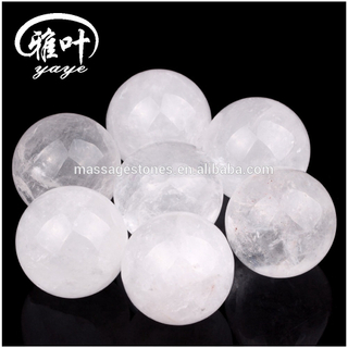 Wholesale clear quartz sphere carving crystal ball for decoration