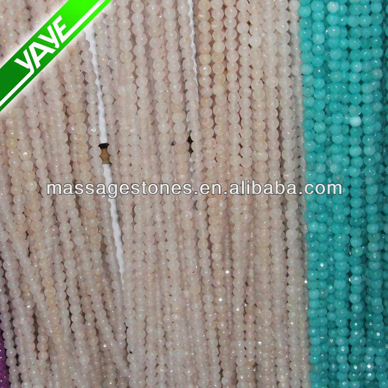 New Style 6mm Natural Genuine Coin/disc Faceted Loose Gemstone Beads