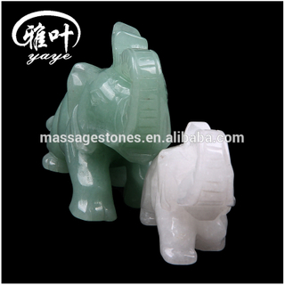 Wholesale Gemstones Fengshui Jade Elephant Figurines