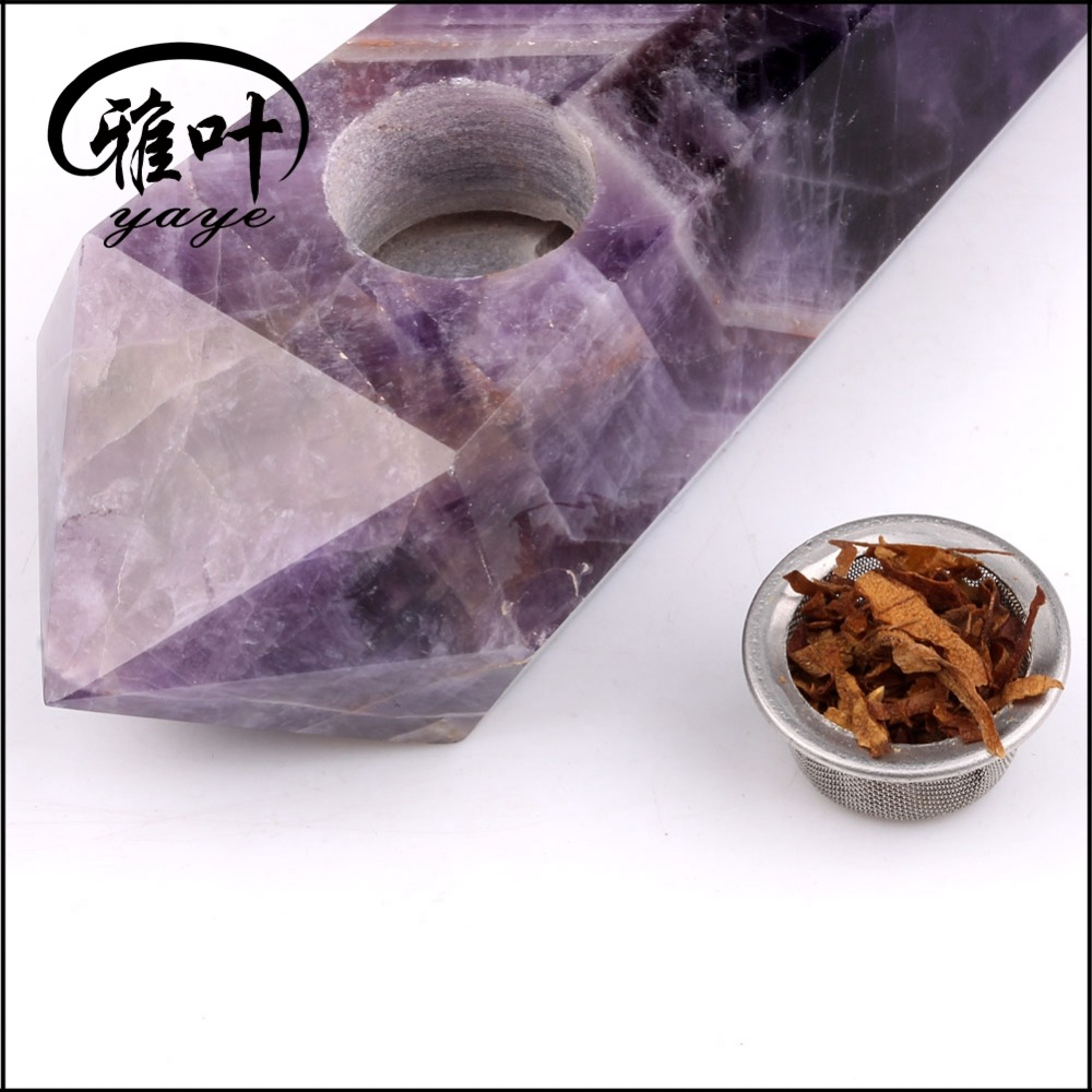 Wholesale quartz crystal smoking pipes for tobacco