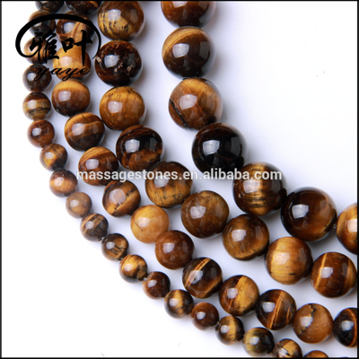 Yiwu Popular Wholesale Natural Tiger Eye beads landing beads for jewelry making