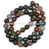 Assorted natural Loose stone 8mm round gemstone beads