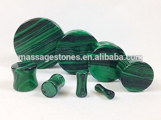 Green Malachite Stone Plugs