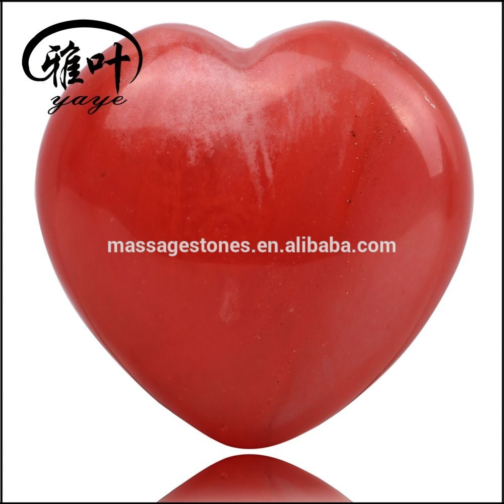 Wholesale Semi Precious Stone Heart Shape For Wedding Gifts