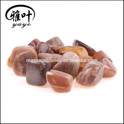 Wholesale Natural Moonstone Gemstones Tumbled stones