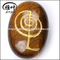 Engraved Power Symbol Reiki Healing Pebble Shape Semi Precious Stone