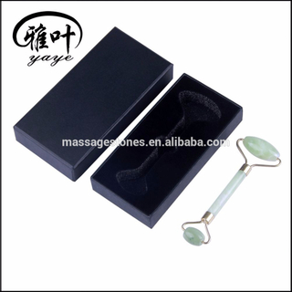 Natural Jade Massage Facial Jade Roller with Customized Box