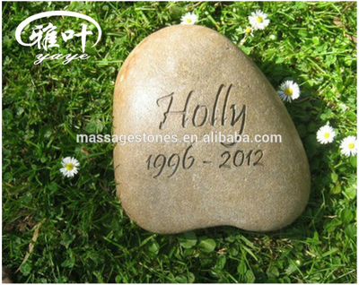 "3-45"" Pet Memorial For Dogs Stone Keepsake Engraved Stones"