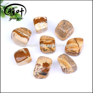 Wholesale Picture Jasper Tumbled stones