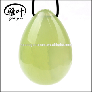 Natural Green Jade/New Jade Eggs for Sale