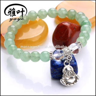Chakra beaded buddha bracelet with reiki buddha gemstone beads