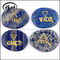 Wholesale Crystal Elements Set Lapis Lazuli Pocket Stone Engraved Reiki Palm Stones