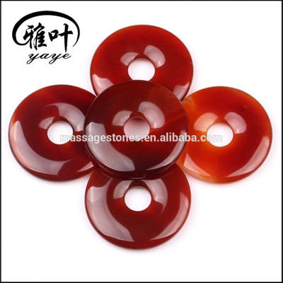 Factory Prices Stones Donut Carnelian Donut